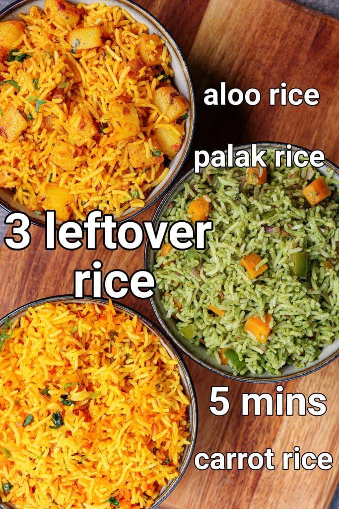 3 veggie rice recipe